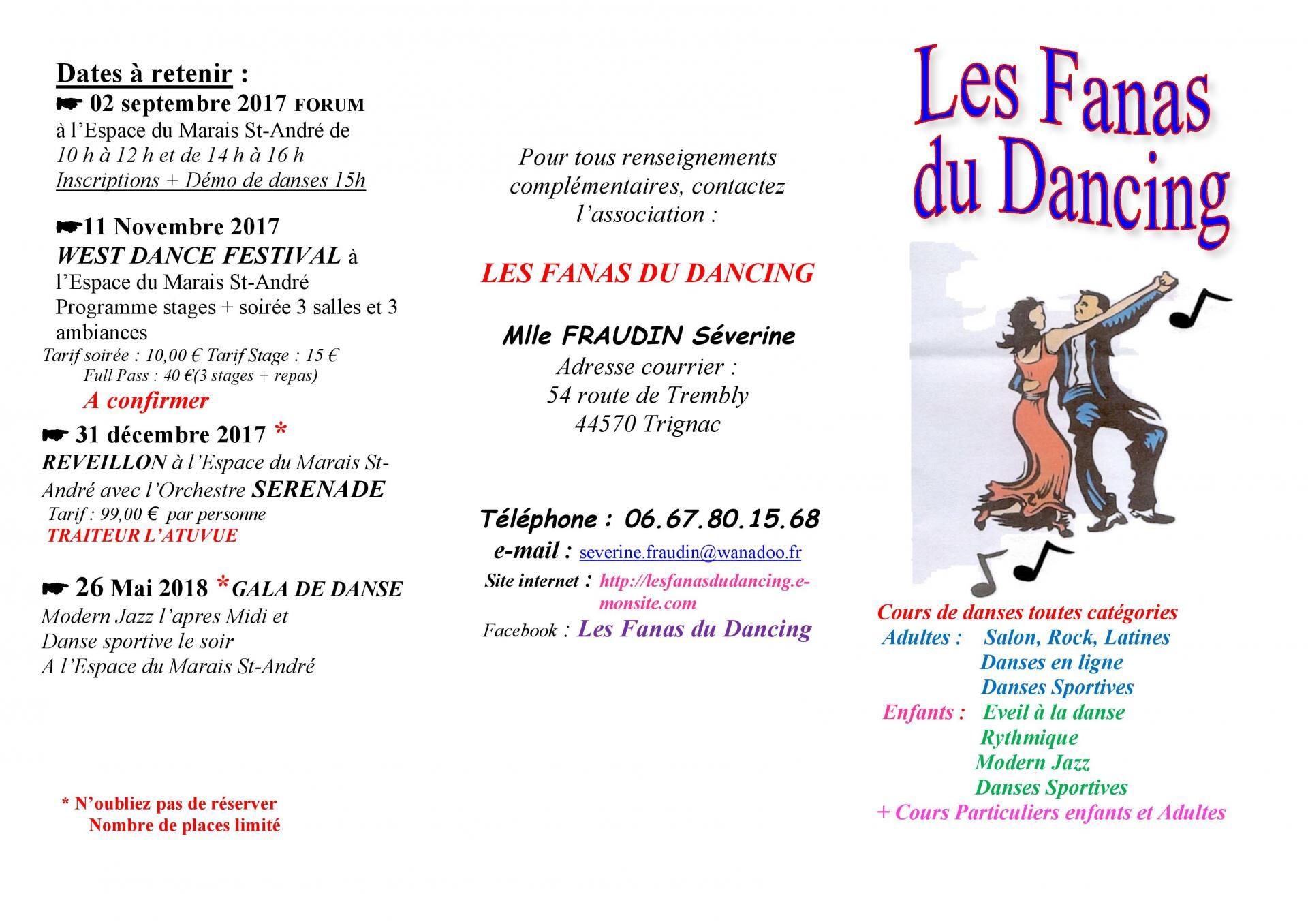 Plaquette fanas du dancing cours 2017 2018 page 001